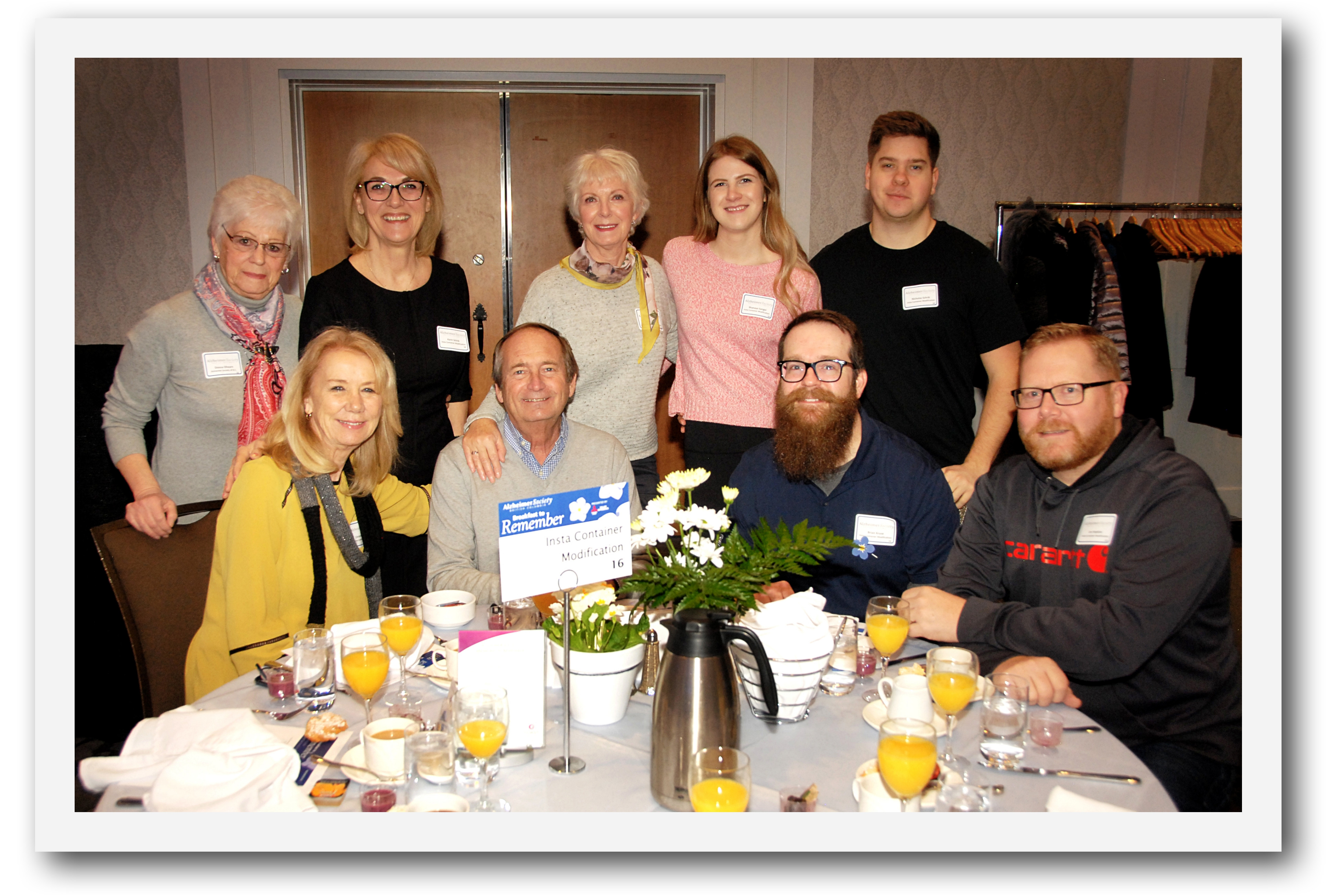 Alzheimer's Society of BC's Breakfast to Remember March 10, 2020