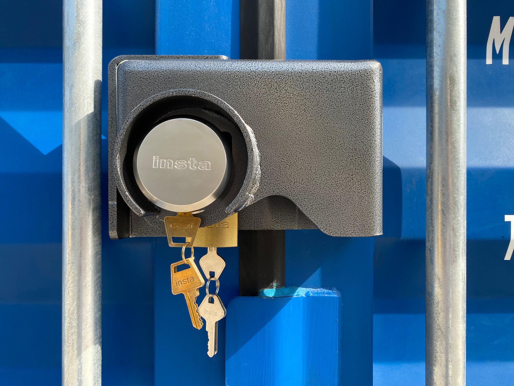 #3234 Insta Bolt-On Combo Lock Box