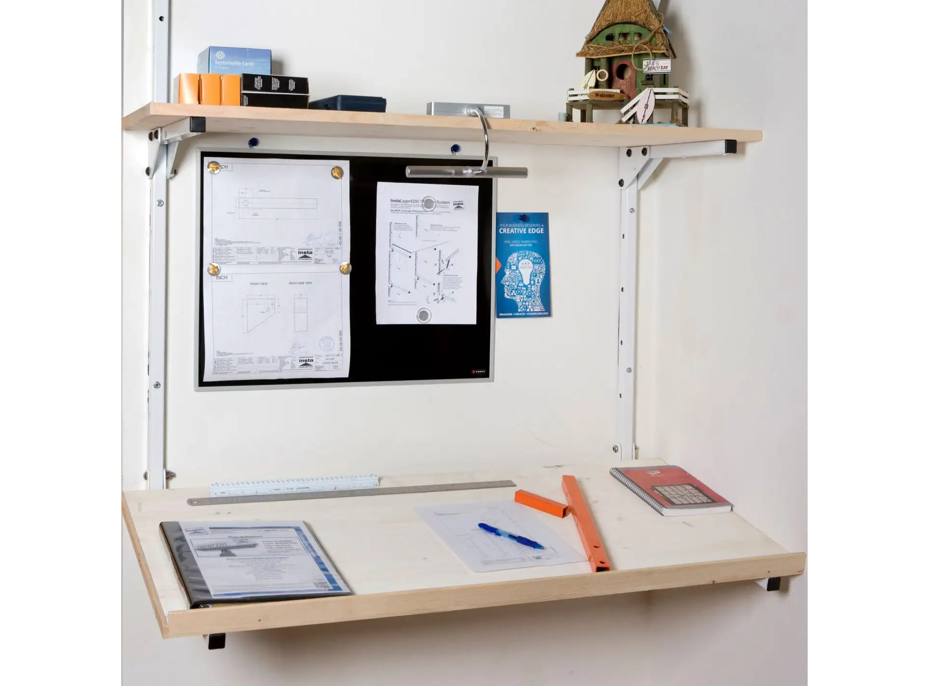 #4340 InstaLager Drafting Planning Table Set