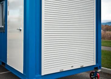 #6072 Insta Aluminum Slat Rollshutter Door