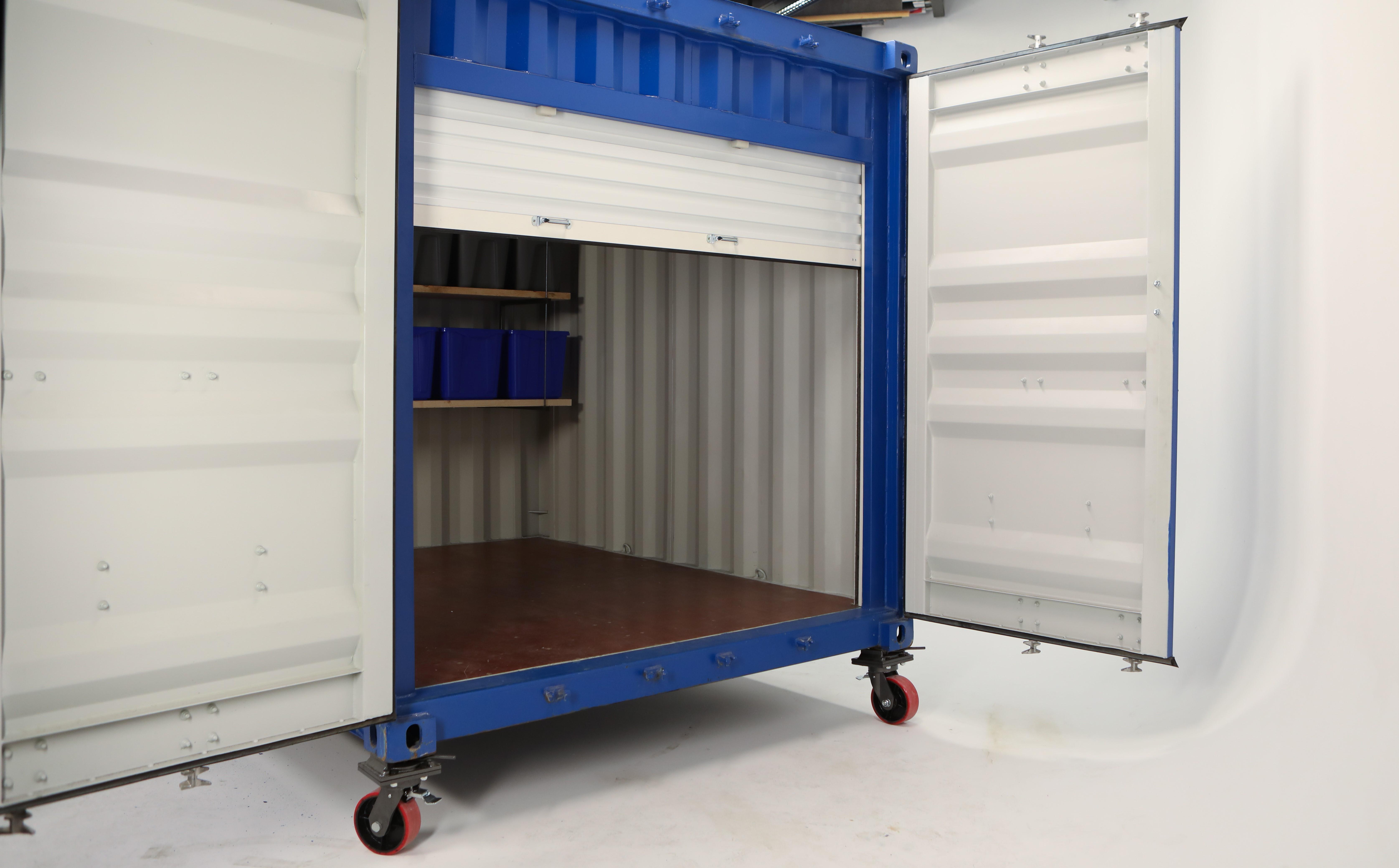 #6074 Insta Steel Slat Roll-Up Door